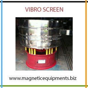 Vibro Screen Manufacturer, Vibrating Screening Machine in India